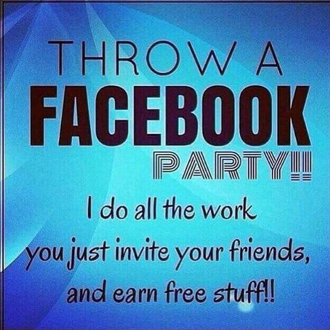 Host a Scentsy Facebook Party