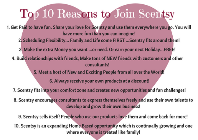 Top 10 Reasons to join Scentsy| Dundee