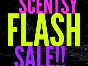 Scentsy Are Having A Flash Sale! Some tips on how to Survive!