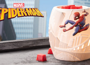 Marvel  Scentsy Launches new Superhero Warmers and Buddies