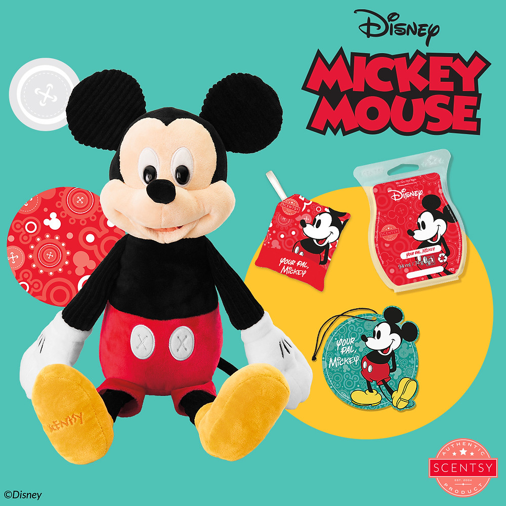 The Disney Collection from Scentsy Mickey Mouse