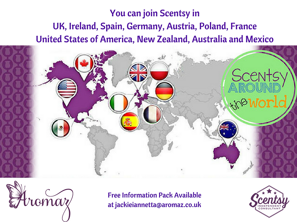 I want to join Scentsy in