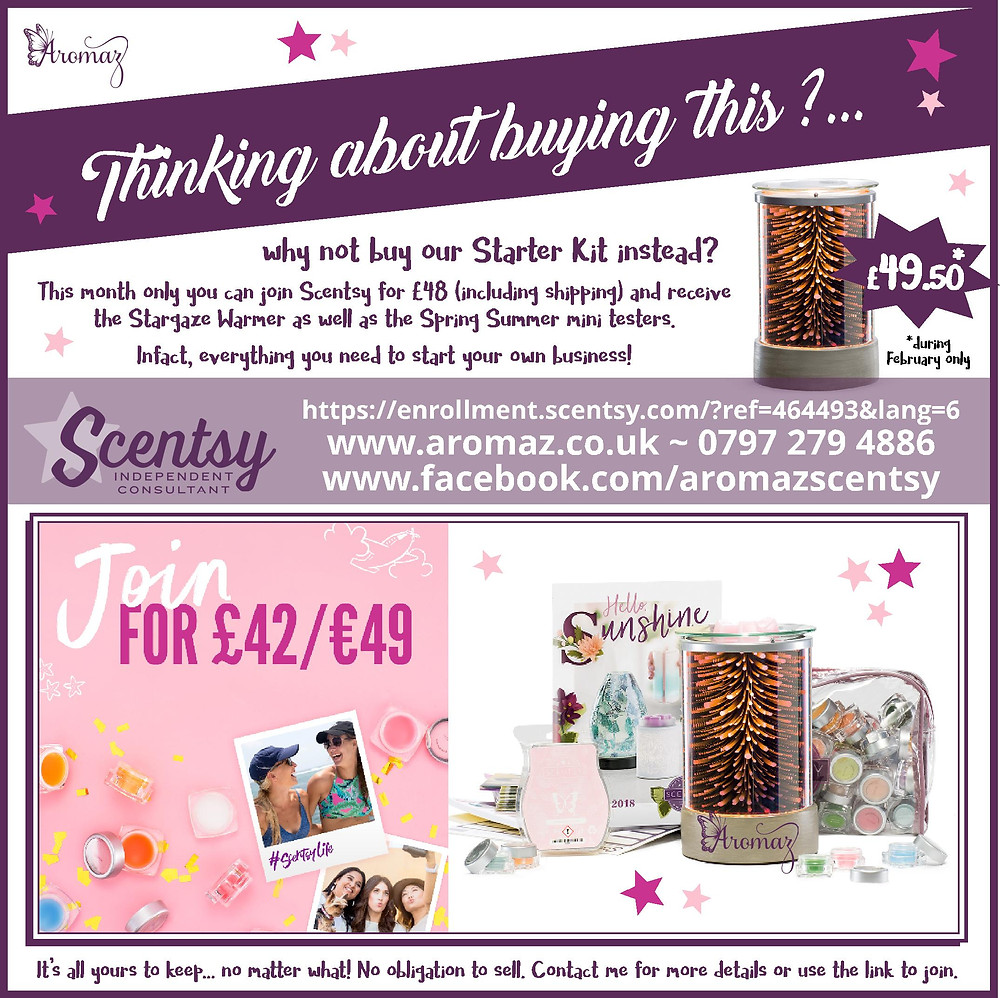 Amazing Offer for Joining Scentsy February 2018