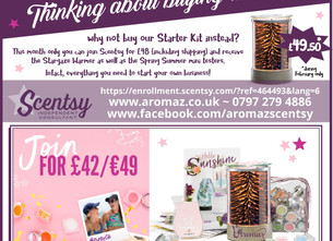 Join Scentsy for only £42 in February