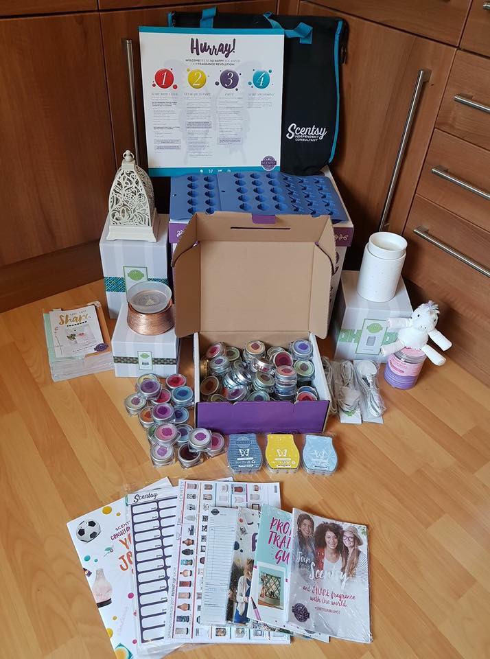 Join Scentsy UK Starter Kit July 2017
