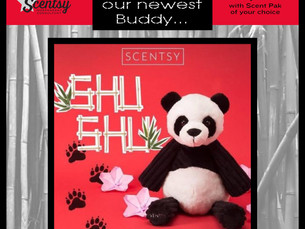 Shu Shu ~ New Buddy   NOW SOLD OUT!