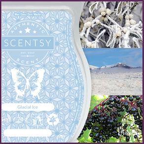 Scentsy UK New Release Glacial Ice Wax Bar