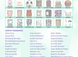 Scentsy are Out with The Old.....