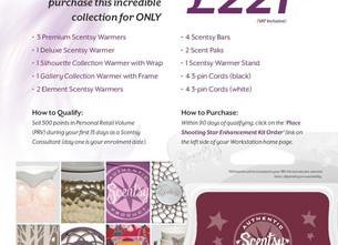 Scentsy® - Amazing Offer - August 2016