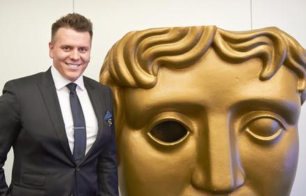 Director Aleksandras Brokas at British Academy Film Awards