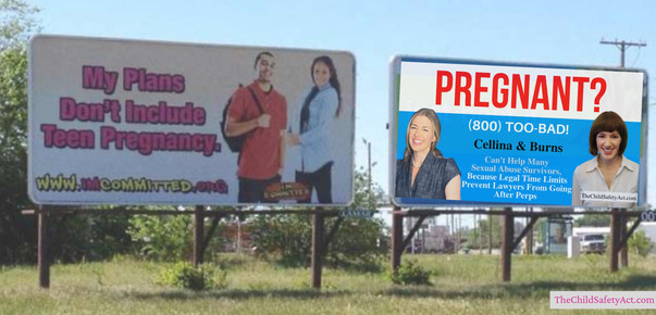 The Child Safety Act: Pregnant? Billboard