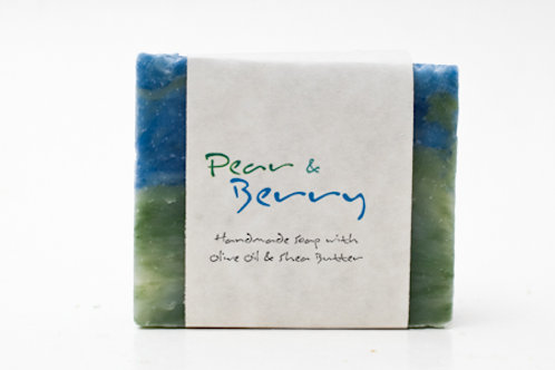 Pear Berry 4 oz. Soap Bar