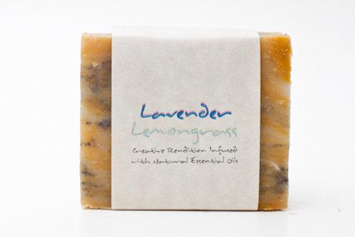Lavender Lemongrass 4 oz. Soap Bar
