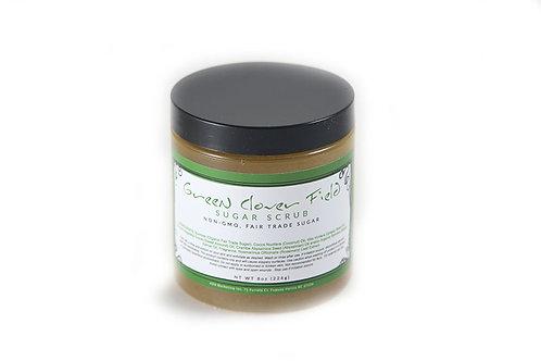 Green Clover Field Sugar Scrub 10 oz.