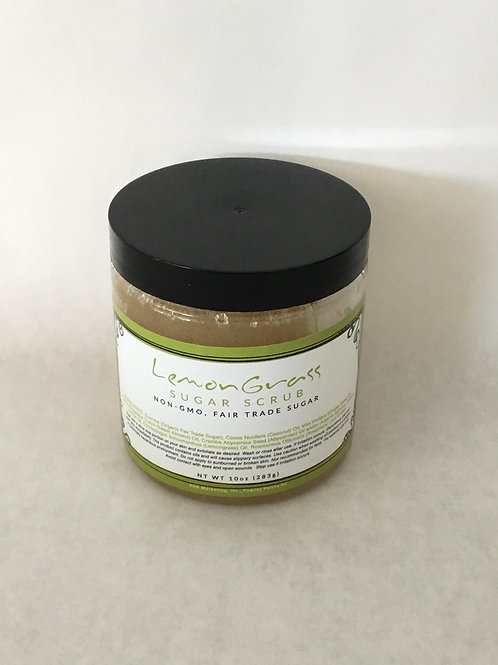 Lemongrass Sugar Scrub 10 oz.