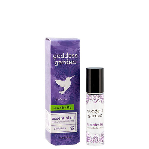 Lavender Sky Essential Oil Roll-On Perfume
