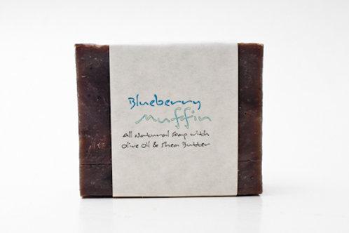 Blueberry Muffin 4 oz. Soap Bar