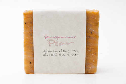 Pomegranate Pear 4 oz. Soap Bar