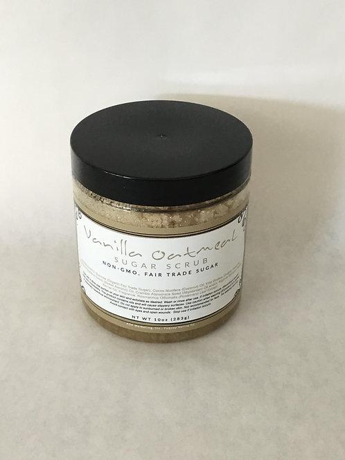 Vanilla Oatmeal Sugar Scrub 10 oz.