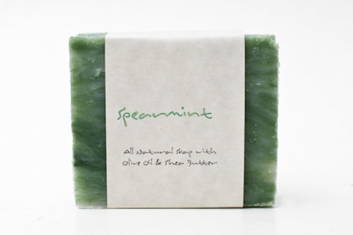 Spearmint 4 oz. Soap Bar