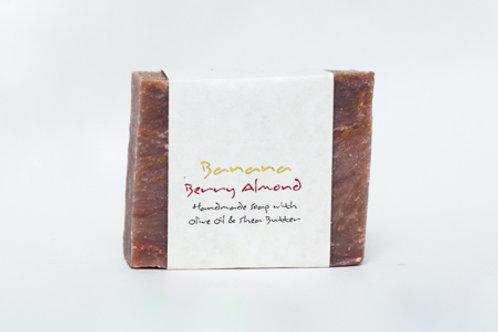Banana Berry Almond 4 oz. Soap Bar