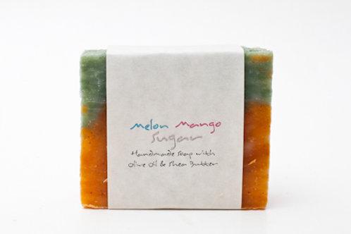 Melon Mango 4 oz. Soap Bar