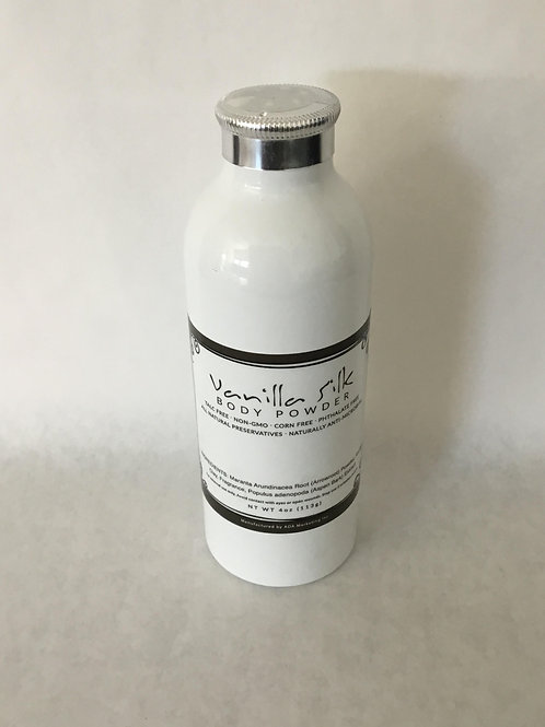 Vanilla Silk Body Powder 4 oz.