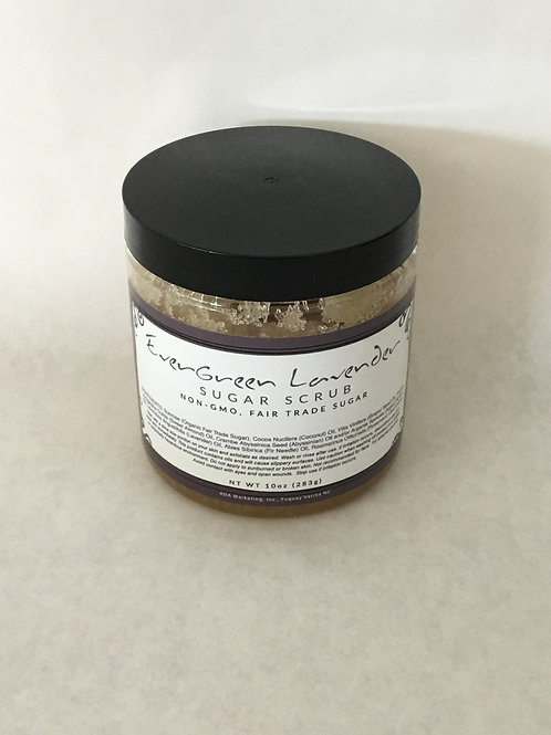 Evergreen Lavender Sugar Scrub 10 oz.