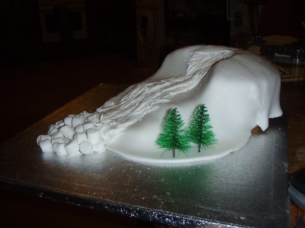 Avalanche Cake