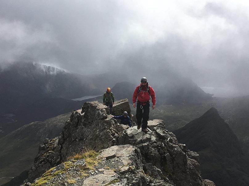 Sgurr nan Gillean summit.