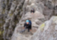 Tower Gap, Tower Ridge, Ben Nevis.