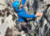 Learn to lead rock climbing.