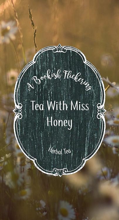 Tea With Miss Honey - Matilda