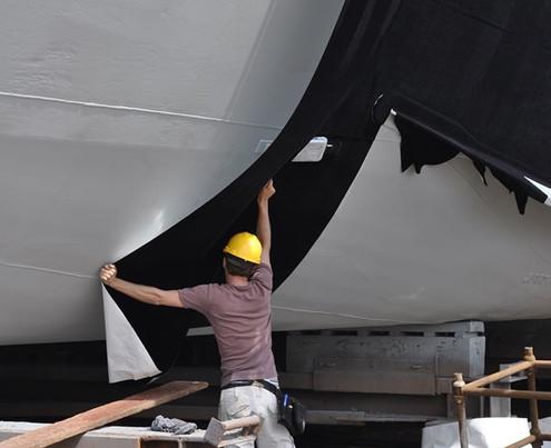 Finsulate Frachtschiff
