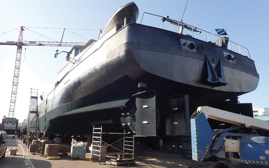 prickly-antifoul-Finsulate-test-ship