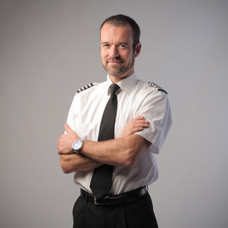 Avión Piloto Retrato