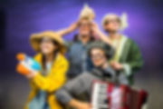 KEY PHOTO - Bear Hunt West End 2018 cast