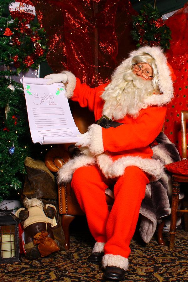 Santa at Birmingham Museum and Art Galle