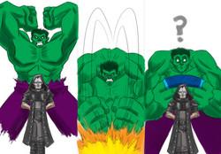 Miki Dark vs The Hulk