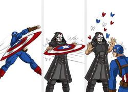 Miki Dark vs Captain America