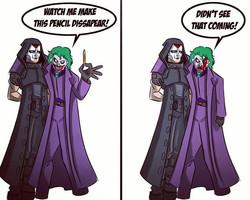 Miki Dark vs The Joker