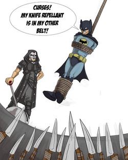 Miki Dark vs Batman