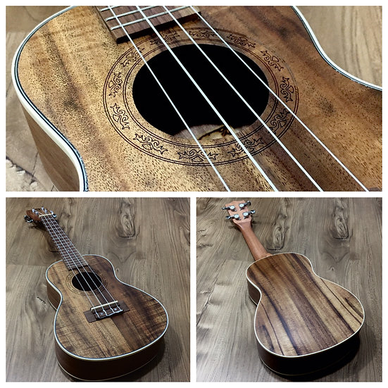 Techno Tenor Walnut Ukulele with Pickup