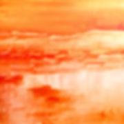 Glaicial Sun Set