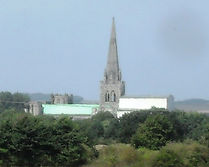 Chichester Cathedral from canal 2.JPG