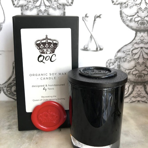 Queen of Clubs Organic Soy Candle