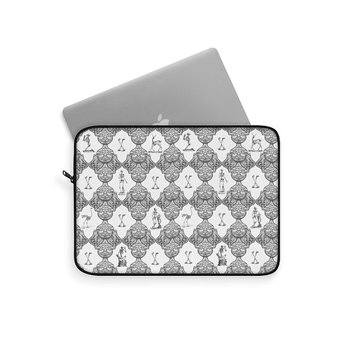 Bathhouse Wallpaper Limited Edition Print Laptop Sleeve