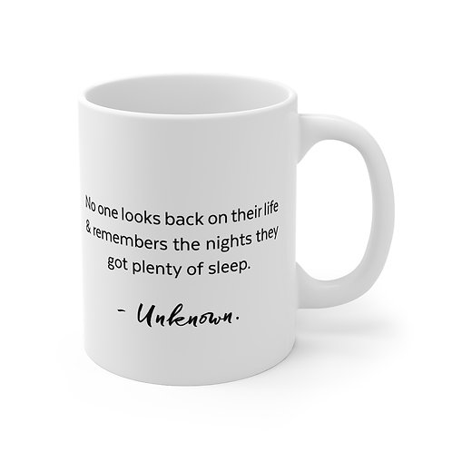 Queen of Clubs 'Sleep Quote' Mug