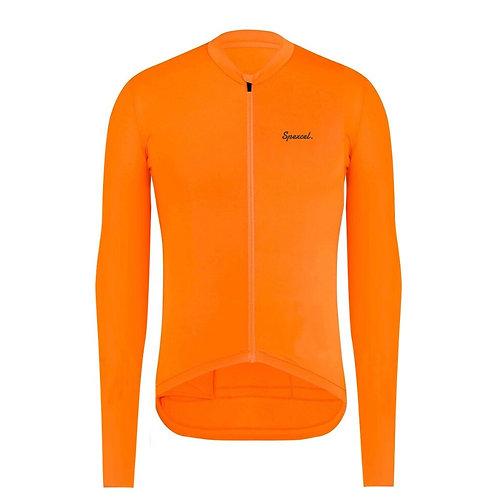 SPEXCEL Aero Lightweight Long Sleeve Seamless Cycling Jersey