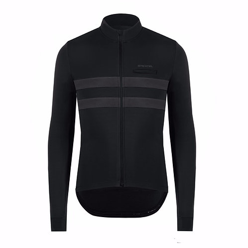 SPEXCEL Reflective Thermal Long Sleeve Cycling Jersey
